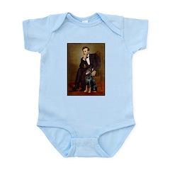 Lincoln's Doberman Infant Bodysuit