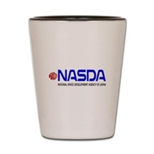 Long NASDA Logo Shot Glass