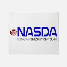 Long NASDA Logo Throw Blanket
