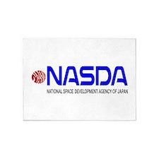 Long NASDA Logo 5'x7'Area Rug