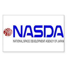 Long NASDA Logo Decal