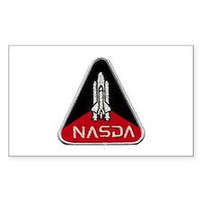 NASDA Program Logo Decal