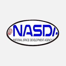 Long NASDA Logo Patches