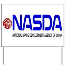Long NASDA Logo Yard Sign