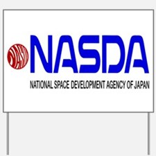 Long NASDA Logo Yard Sign