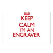 Keep calm I'm an Engraver Postcards (Package of 8)