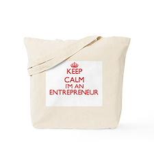 Keep calm I'm an Entrepreneur Tote Bag