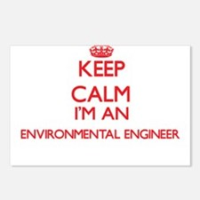 Keep calm I'm an Environm Postcards (Package of 8)