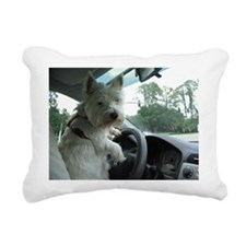 Westie Rectangular Canvas Pillow