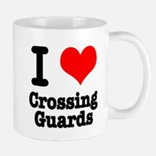I Heart (Love) Crossing Guards Mug