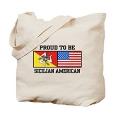 Sicilian American Tote Bag