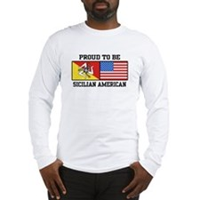Sicilian American Long Sleeve T-Shirt