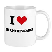I love The Unthinkable Mugs