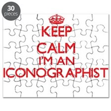 Keep calm I'm an Iconographist Puzzle