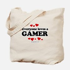 Everyone loves a gamer Tote Bag