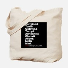Lorraine & Blk W Writers Tote Bag