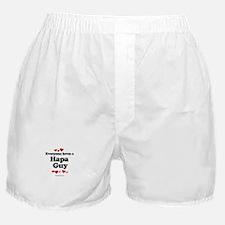 Everyone loves a Hapa guy Boxer Shorts