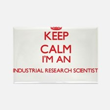 Keep calm I'm an Industrial Research Scien Magnets