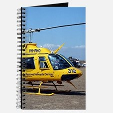 Helicopter (blue & yellow) Journal