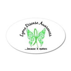 Lyme Disease Butterfly 6.1 Wall Decal