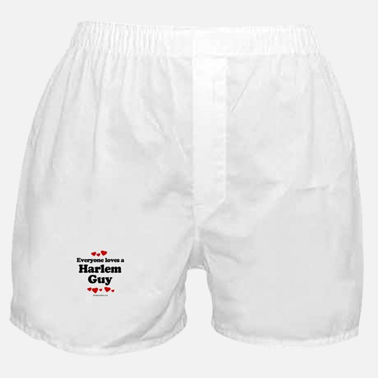 Everyone loves a Harlem guy Boxer Shorts