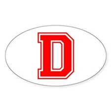 D-var red Decal