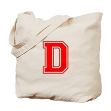 D-var red Tote Bag