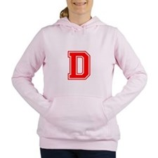 D-var red Women's Hooded Sweatshirt