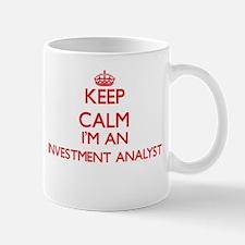 Keep calm I'm an Investment Analyst Mugs