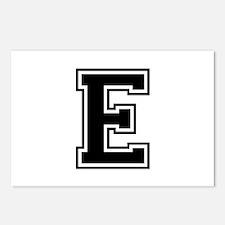 E-var black Postcards (Package of 8)