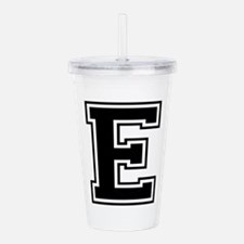 E-var black Acrylic Double-wall Tumbler