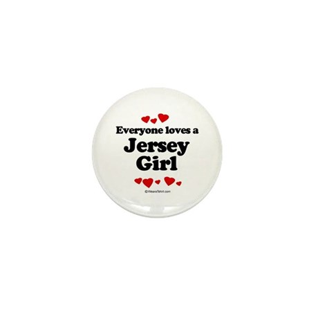 Everyone loves a Jersey girl Mini Button (10 pack)