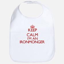 Keep calm I'm an Ironmonger Bib