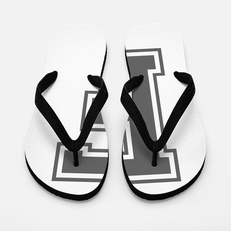 F-var gray Flip Flops