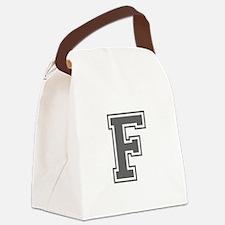 F-var gray Canvas Lunch Bag