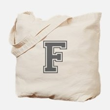 F-var gray Tote Bag