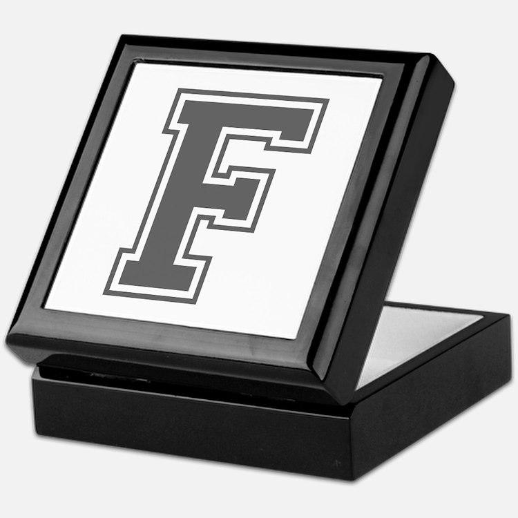 F-var gray Keepsake Box