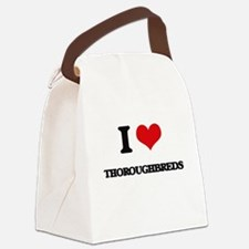 I love Thoroughbreds Canvas Lunch Bag