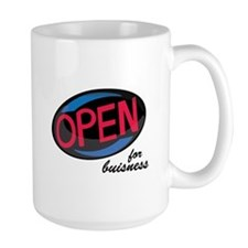 Open_OpenForBusiness Mugs