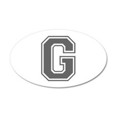G-var gray Wall Decal