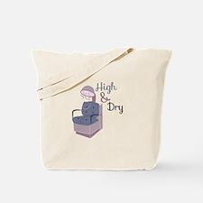HairDryerHigh&Dry Tote Bag