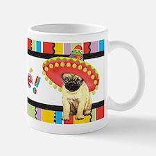 Cute Sombrero pug Mug