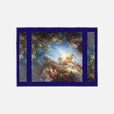 Blue Versailles 5'x7'area Rug