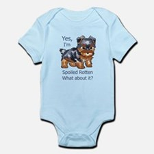 SPOILED ROTTEN YORKIE Body Suit