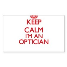 Keep calm I'm an Optician Decal