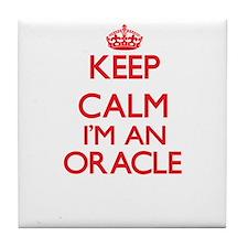 Keep calm I'm an Oracle Tile Coaster