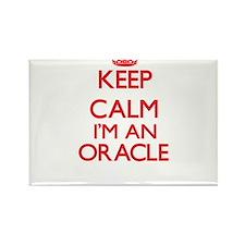 Keep calm I'm an Oracle Magnets