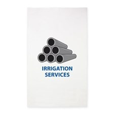 IRRIGATION SERVICES Area Rug