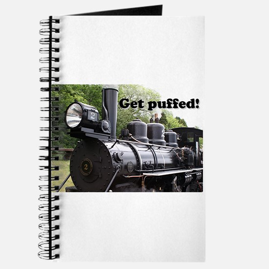 Get puffed! Steam train, Wales, Britain 2 Journal