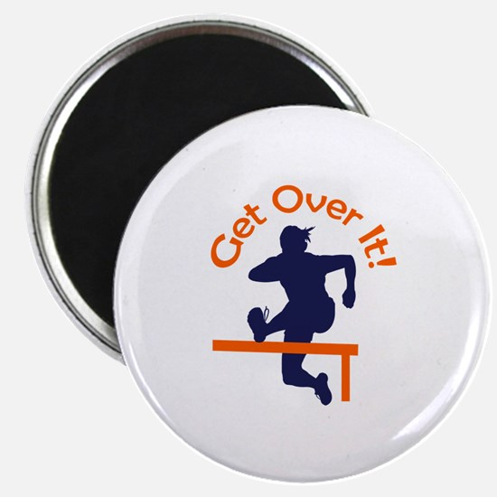 GET OVER IT Magnets